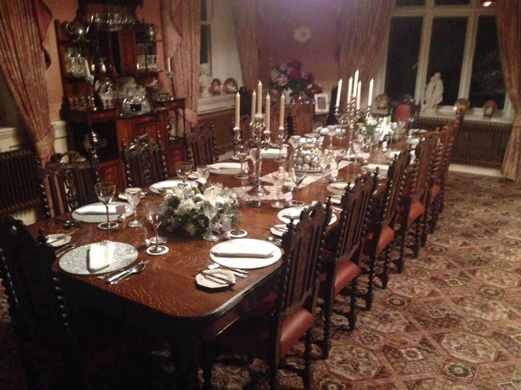 The Dining Room Does Downton Abbey Dinner Is Served At